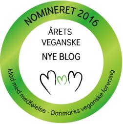 Nomineret årets veganske nye blog