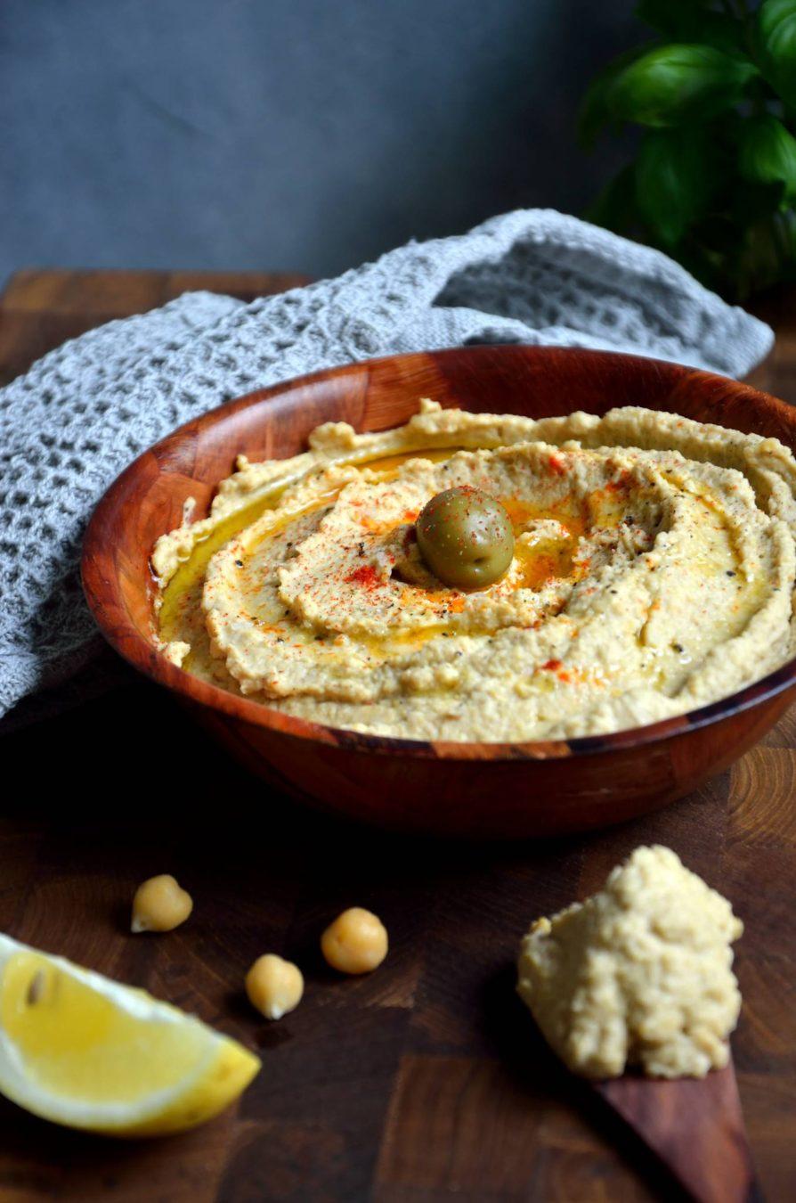 Hummus på 5 minutter - opskrift