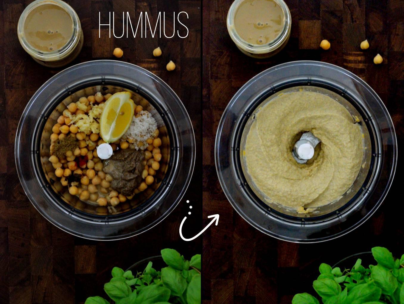 Hummus på 5 minutter