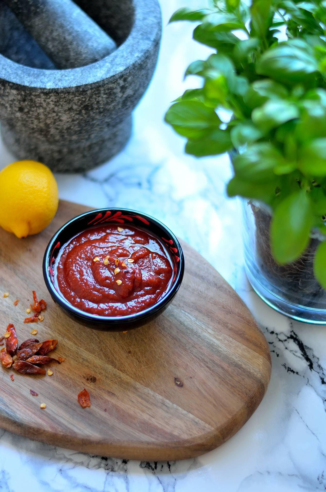 Ketchup på 5 minutter – sukkerfri version
