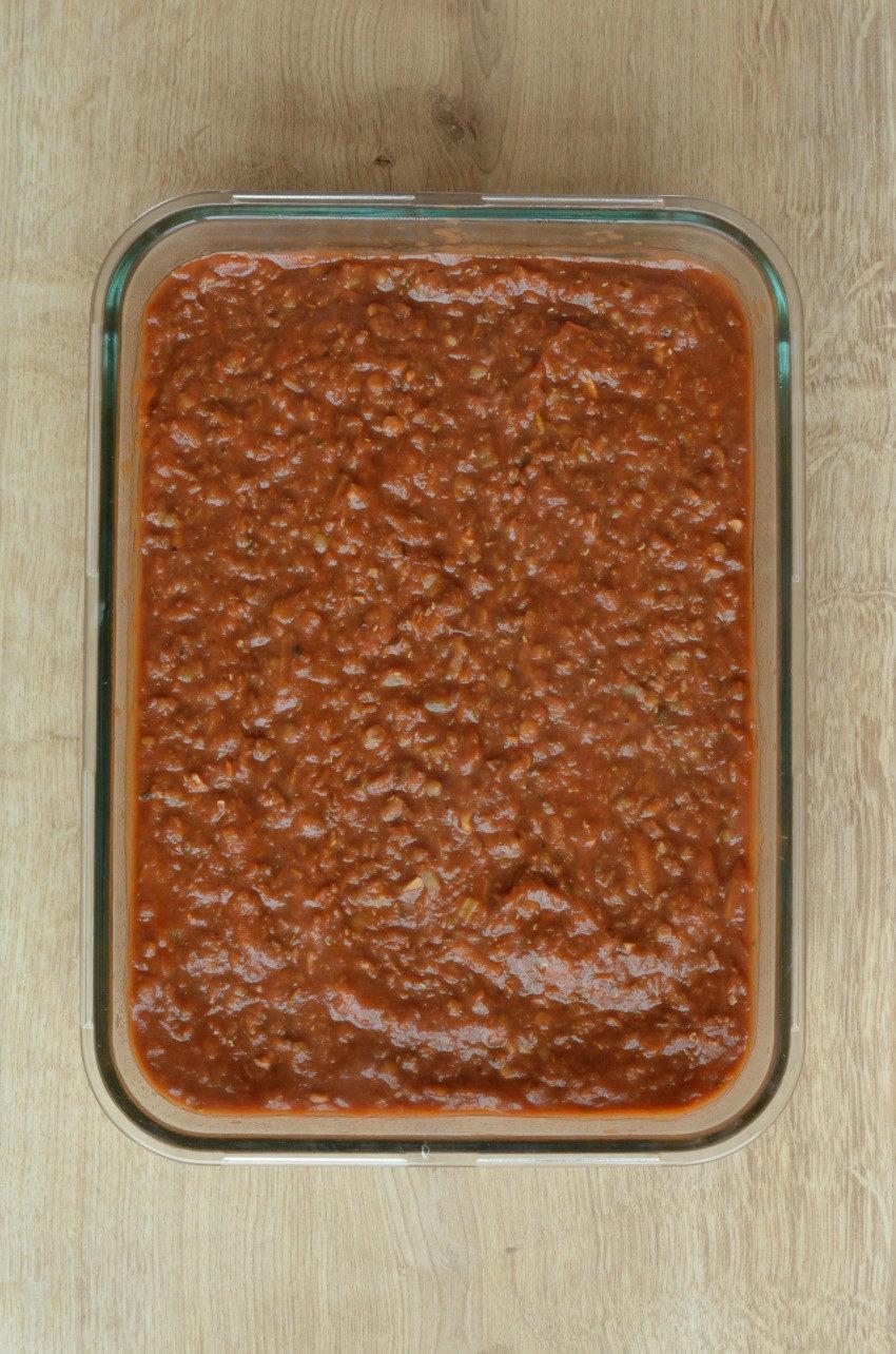 Fremgangsmåde 2: dæk kartoflerne med linsesovs