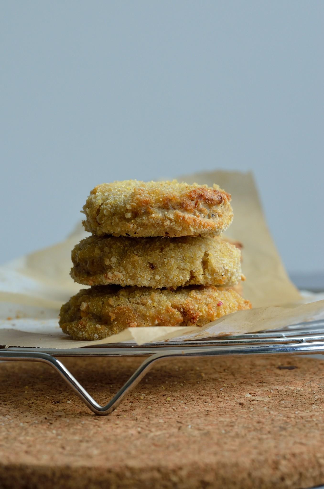 NO Chicken Nuggets (vegansk, glutenfri og børnevenlig)