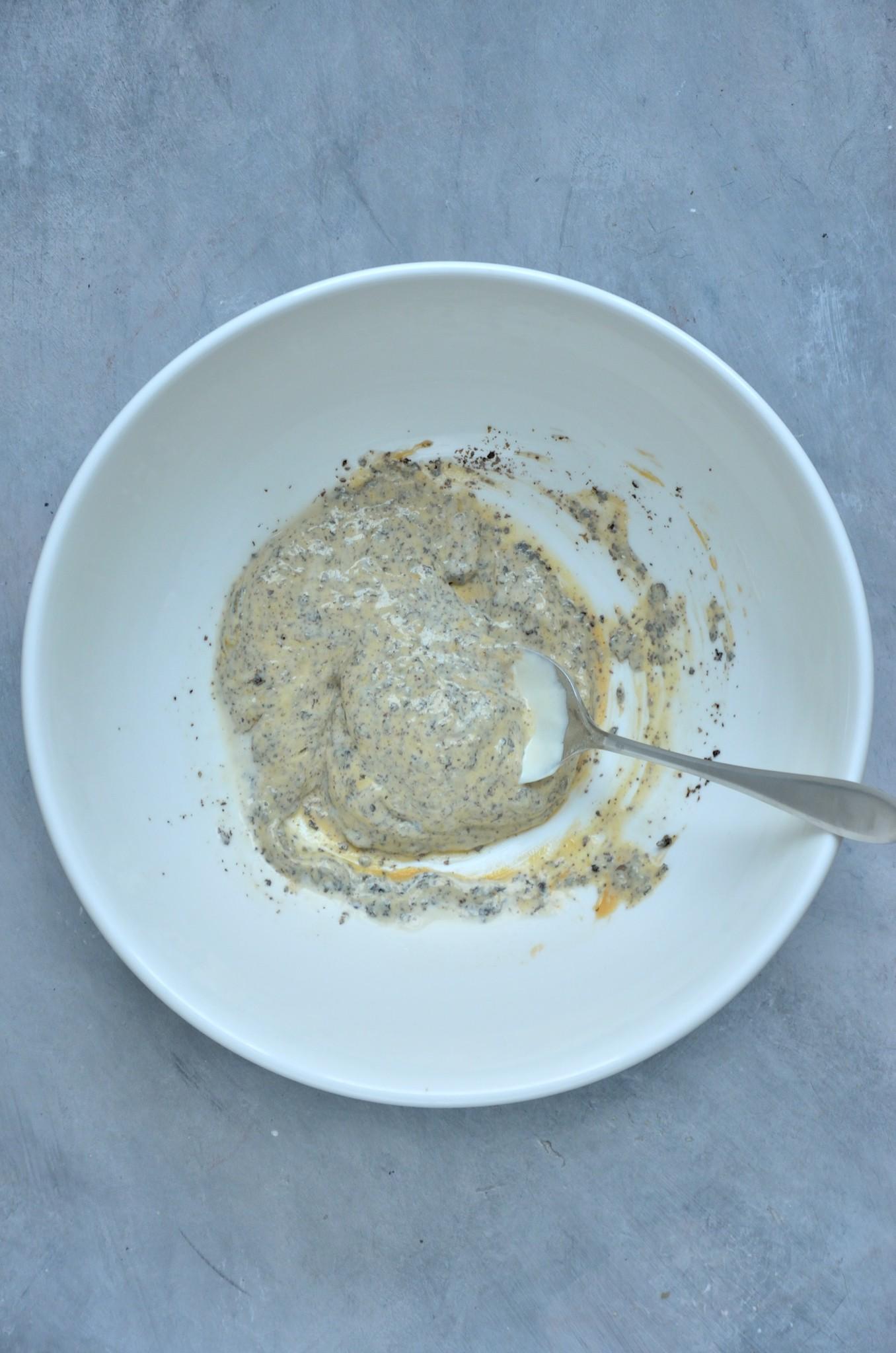 Fremgangsmåde til vegansk tunsalat 2.