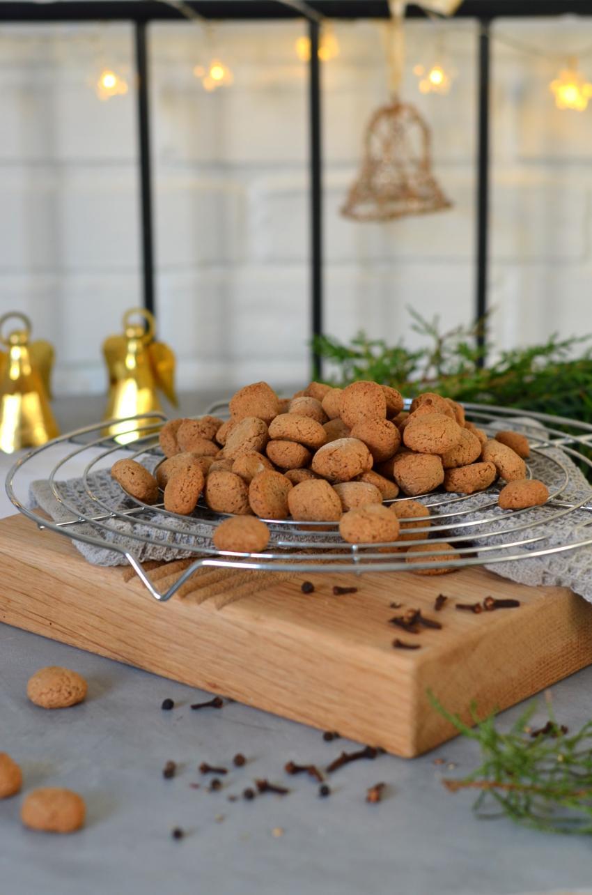 Opskrift på fedtfattige veganske pebernødder