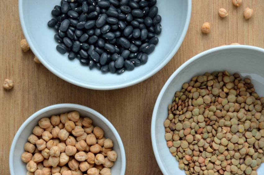 Korrekt tilberedning af bønner, linser og kikærter