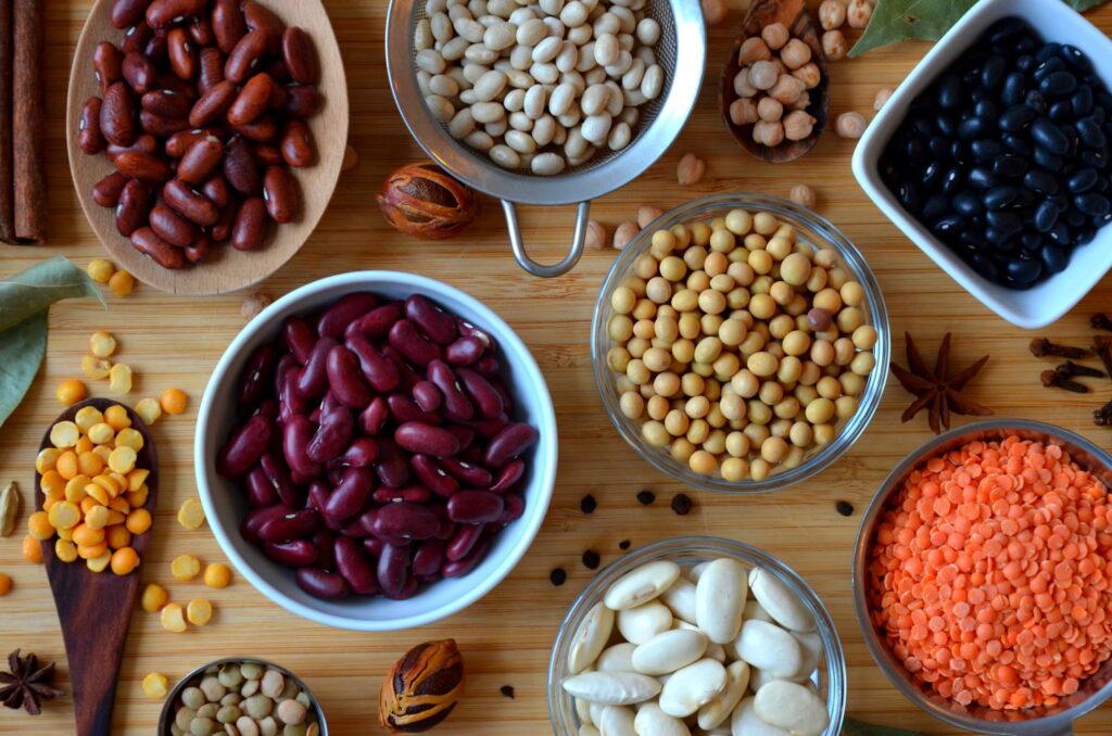 Tørrede bælgfrugter er rige på planteprotein, vitaminer og mineraler